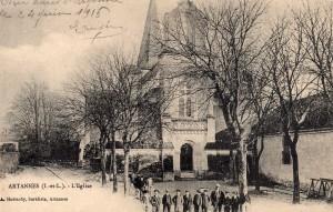 Eglise ancienne photo Artannes