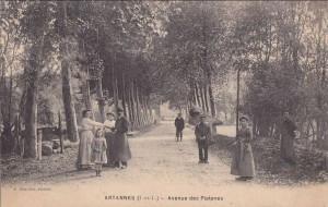 Pont Photo Ancienne Artannes