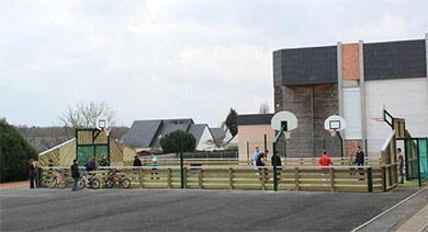 Citystade de la ville d'Artannes sur Indre